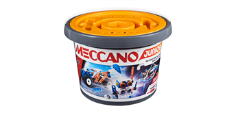Meccano Junior 150 Stück im Kübel