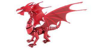 Metal Earth - ICONX - Red Dragon