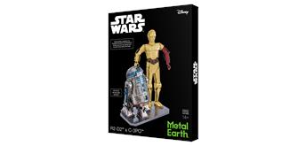 Metal Earth - Star Wars R2D2 & C-3PO Box Set
