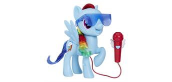 My little Pony Rainbow Dash singend