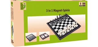 Natural Games 3-in-1 Magnetspiel