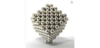 NEOBALLS Nickel (864 Magnetkugeln)