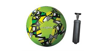 New Sports Neopren Fussball + Handpumpe im Set
