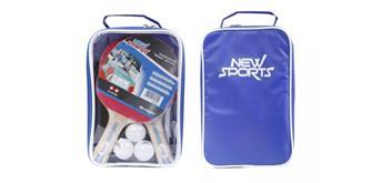 New Sports TT-Set, 2 Schläger, 3 Bälle, inklusive Netz