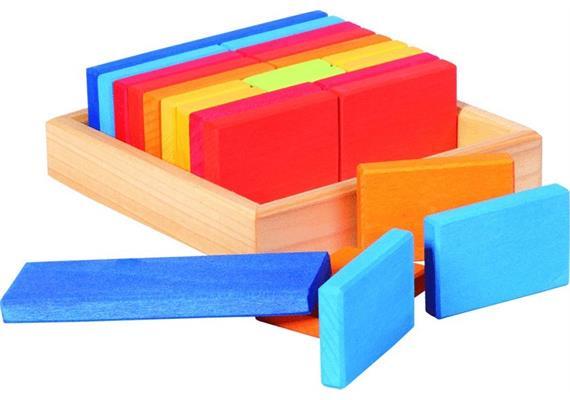 nic Baukasten Quadrat Plättchen