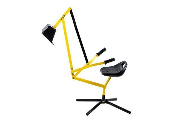 OA Metall Schaufelbagger gelb/schwarz