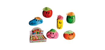 ootb - Antistress-Ball, Funny Face ca. 8 cm