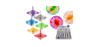 Ootb - Kreisel, Colours I, mit LED (inkl. Batterie)