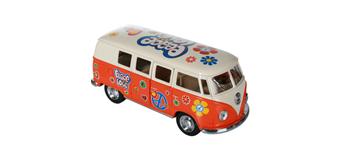 ootb - Metall-Modellauto mit Rückziehmotor, VW T1 Bus