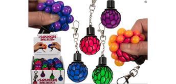 Ootb - Metall-Schlüsselanhänger, Squeeze-Ball