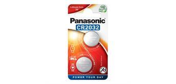 Panasonic Batterien 2 x CR2032