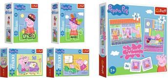 Peppa Pig Memo und 2 in 1 Puzzle und Minipuzzle