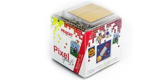Pixel Bastelset 15 Smiley, Roboter, Eishockeyspieler ...
