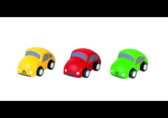 Plantoys Autos Version II, 3er Set