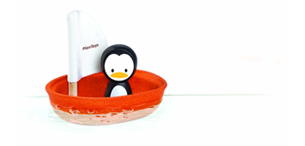 PlanToys Segelboot - Pinguin