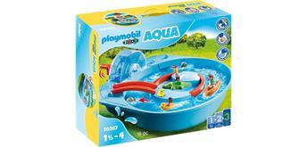 PLAYMOBIL ®123 - 70267 Fröhliche Wasserbahn