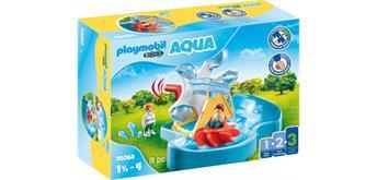 PLAYMOBIL ®123 - 70268 Wasserad mit Karussell
