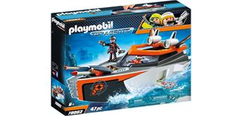 PLAYMOBIL® 70002 Spy Team Turboship