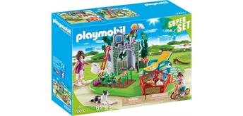 PLAYMOBIL® 70010 SuperSet Familiengarten
