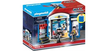 "PLAYMOBIL® 70306 Spielbox ""In der Polizeistation"""