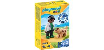 PLAYMOBIL® 70407 Tierarzt mit Hund