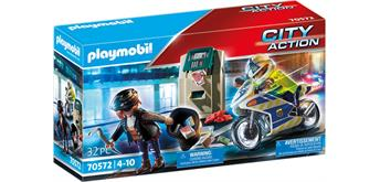 PLAYMOBIL® 70572 Polizei-Motorrad: Verfolgung