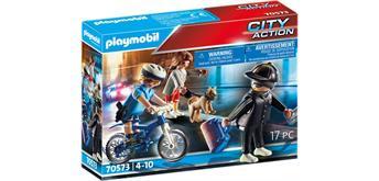 PLAYMOBIL® 70573 Polizei-Fahrrad: Verfolgung des