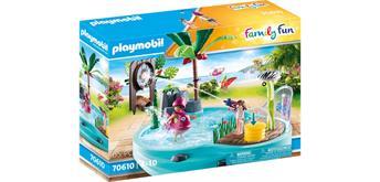 PLAYMOBIL® 70610 Spassbecken mit Wasserspritze