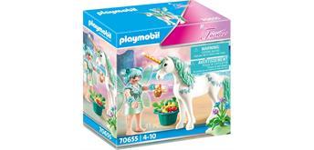 PLAYMOBIL® 70655 Einhorn mit Fütter-Fee