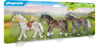 PLAYMOBIL® 70683 - 3 Pferde