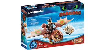 PLAYMOBIL® 70729 Dragon Racing: Fischbein und Fleischklops