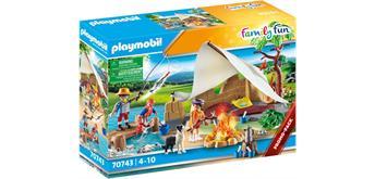 PLAYMOBIL® 70743 Familie beim Campingausflug