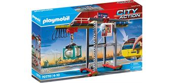 PLAYMOBIL® 70770 Portalkran mit Containern