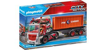 PLAYMOBIL® 70771 LKW mit Anhänger