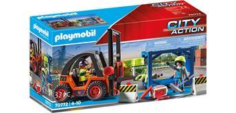 PLAYMOBIL® 70772 Gabelstapler mit Fracht