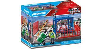 PLAYMOBIL® 70773 Frachtlager