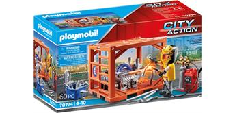 PLAYMOBIL® 70774 Containerfertigung