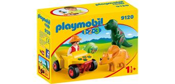 PLAYMOBIL® 9120 Dinoforscher mit Quad