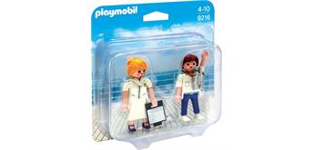 PLAYMOBIL® 9216 Duo Pack Stewardess und Offizier
