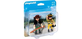 PLAYMOBIL® 9217 Duo Pack Ranger und Wilddieb