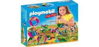 PLAYMOBIL® 9331 Play Map Ponyausflug