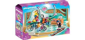 PLAYMOBIL® 9402 Bike & Skate Shop