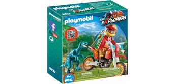 PLAYMOBIL® 9431 Motocross-Bike mit Raptor
