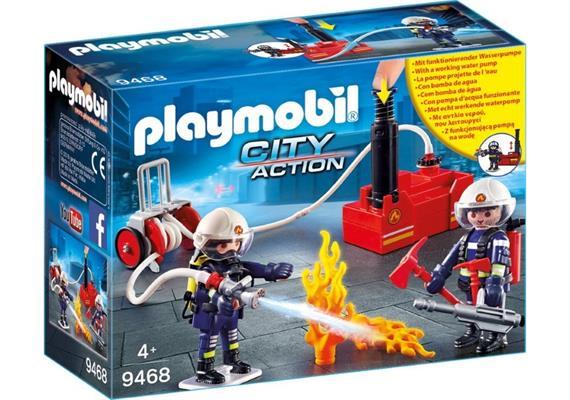 PLAYMOBIL® 9468 Feuerwehrmänner mit Löschpumpe