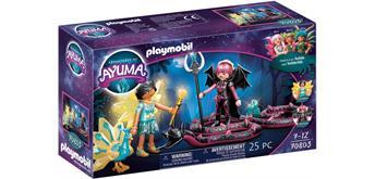 PLAYMOBIL® Ayuma 70803 Crystal- und Bat Fairy mit Seelentieren
