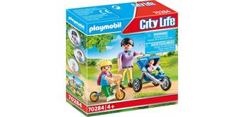 PLAYMOBIL® City Life 70284 Mama mit Kindern