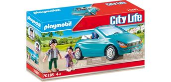PLAYMOBIL® City Life 70285 Papa und Kind und Cabrio