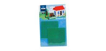 Plus-Plus Bastelplatte grün 2 Stück