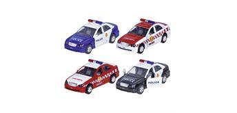 Polizei oder Feuerwehr mit Sirene + Licht L=15 cm