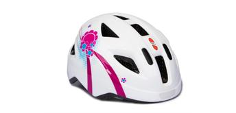 Puky 9593 - Helm PH8 S/M weiss/pink (45 - 51 cm)